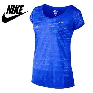 Nike Dri-fit Touch Cool Breeze Short Sleeve Top